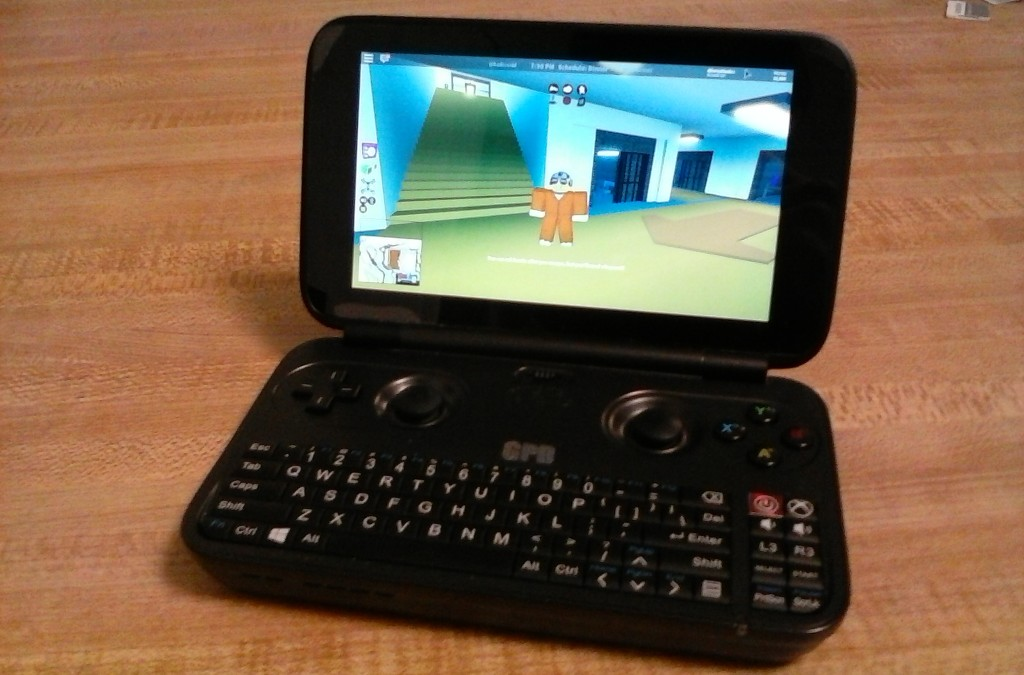 Roblox on a Handheld Console – The GPD Win – ROBLOX Building